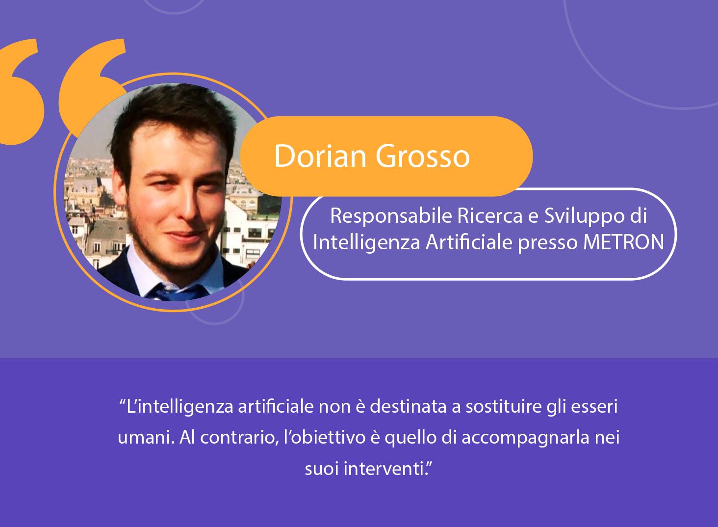 Industria: l'intelligenza artificiale come complemento all'uomo