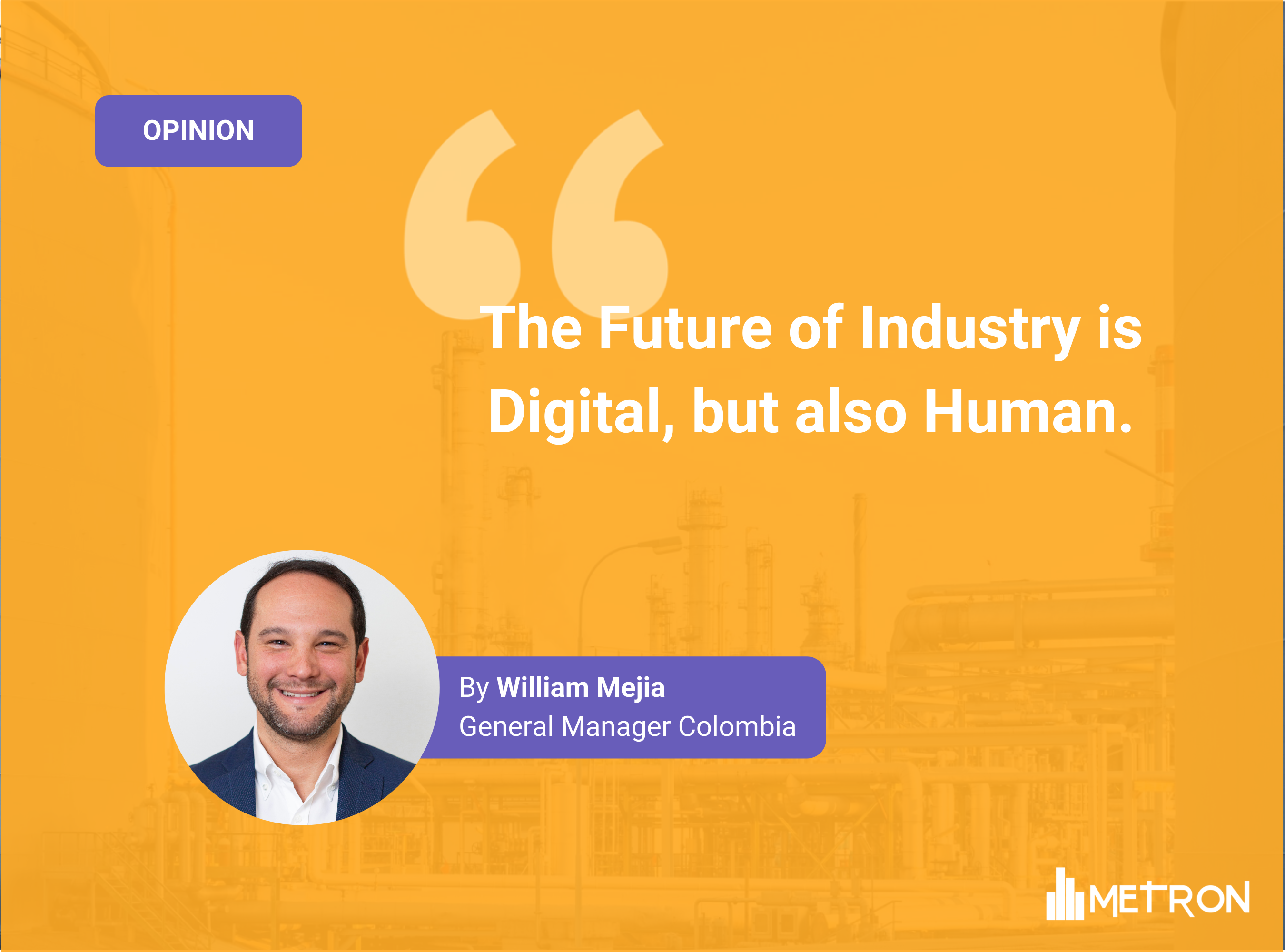 [Opinion] The Future of Industry is Digital, but also Human