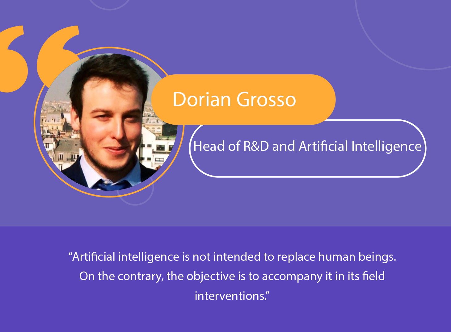 Industry: Artificial intelligence as a complement to humans
